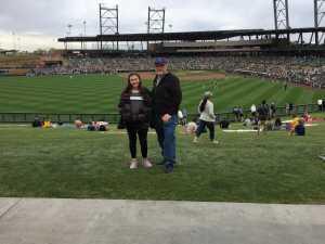 Michael attended Colorado Rockies vs. Oakland Athletics   - MLB Spring Training on Mar 11th 2019 via VetTix