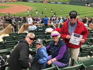 Larry attended Colorado Rockies vs. Oakland Athletics   - MLB Spring Training on Mar 11th 2019 via VetTix
