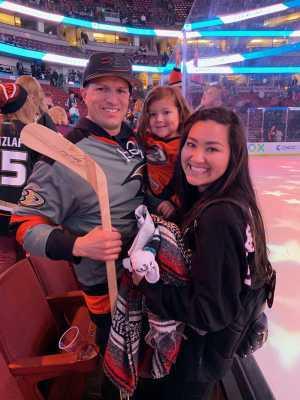 Adrian attended Anaheim Ducks vs. Montreal Canadiens - NHL on Mar 8th 2019 via VetTix