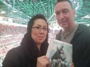 Jason & Noriko attended Anaheim Ducks vs. Montreal Canadiens - NHL on Mar 8th 2019 via VetTix