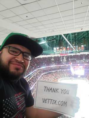 Jonathan attended Anaheim Ducks vs. Montreal Canadiens - NHL on Mar 8th 2019 via VetTix