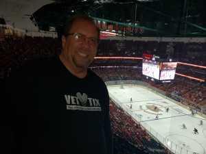 Steven attended Anaheim Ducks vs. Montreal Canadiens - NHL on Mar 8th 2019 via VetTix