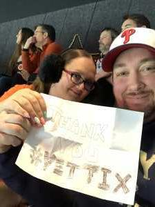 David attended Philadelphia Flyers vs. Washington Capitals - NHL on Mar 6th 2019 via VetTix