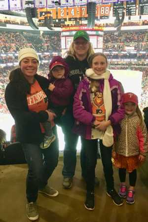 Marlene attended Philadelphia Flyers vs. Washington Capitals - NHL on Mar 6th 2019 via VetTix