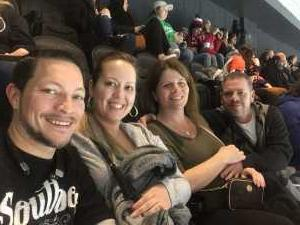 Shannon attended Philadelphia Flyers vs. Washington Capitals - NHL on Mar 6th 2019 via VetTix