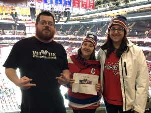 Jeff attended Philadelphia Flyers vs. Washington Capitals - NHL on Mar 6th 2019 via VetTix