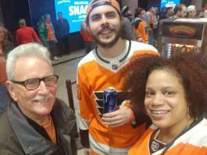 Andrew attended Philadelphia Flyers vs. Washington Capitals - NHL on Mar 6th 2019 via VetTix