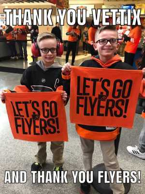 Arthur attended Philadelphia Flyers vs. Washington Capitals - NHL on Mar 6th 2019 via VetTix