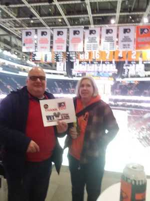 Stephen attended Philadelphia Flyers vs. Washington Capitals - NHL on Mar 6th 2019 via VetTix