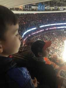 RN attended Philadelphia Flyers vs. Washington Capitals - NHL on Mar 6th 2019 via VetTix