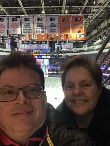 Fred attended Philadelphia Flyers vs. Washington Capitals - NHL on Mar 6th 2019 via VetTix