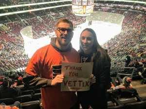 Carl attended Philadelphia Flyers vs. Washington Capitals - NHL on Mar 6th 2019 via VetTix