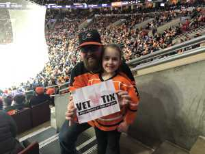 Rich attended Philadelphia Flyers vs. Washington Capitals - NHL on Mar 6th 2019 via VetTix