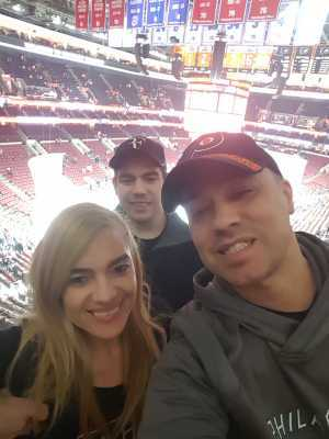 Jose attended Philadelphia Flyers vs. Washington Capitals - NHL on Mar 6th 2019 via VetTix