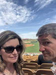Christopher attended Chicago White Sox vs. Arizona Diamondbacks - MLB Spring Training on Mar 20th 2019 via VetTix