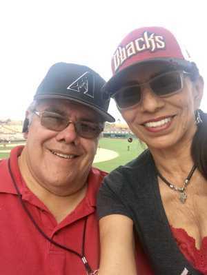 Alicia Bella attended Chicago White Sox vs. Arizona Diamondbacks - MLB Spring Training on Mar 20th 2019 via VetTix