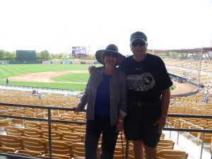 Larry attended Chicago White Sox vs. Arizona Diamondbacks - MLB Spring Training on Mar 20th 2019 via VetTix