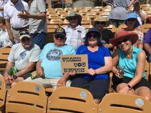 Kelly attended Chicago White Sox vs. Arizona Diamondbacks - MLB Spring Training on Mar 20th 2019 via VetTix