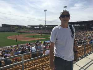 Michael attended Chicago White Sox vs. Arizona Diamondbacks - MLB Spring Training on Mar 20th 2019 via VetTix