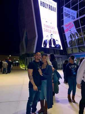 Alex attended Chris Tomlin Holy Roar Tour on Mar 15th 2019 via VetTix