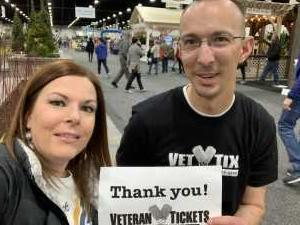 Aaron attended Salt Lake Tribune Home + Garden Show - Tickets Good for Any One Day - * See Notes on Mar 8th 2019 via VetTix