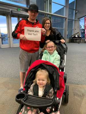 Thomas attended Salt Lake Tribune Home + Garden Show - Tickets Good for Any One Day - * See Notes on Mar 8th 2019 via VetTix