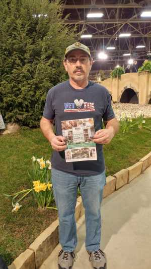 James attended Indiana Flower & Patio Show - Tickets Good for Any One Day - * See Notes on Mar 9th 2019 via VetTix