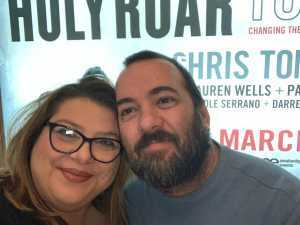 David attended Chris Tomlin Holy Roar Tour on Mar 17th 2019 via VetTix