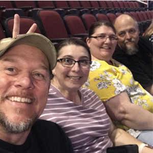Lance attended Chris Tomlin Holy Roar Tour on Mar 17th 2019 via VetTix