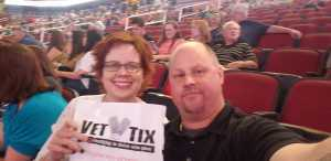 Sharon attended Chris Tomlin Holy Roar Tour on Mar 17th 2019 via VetTix