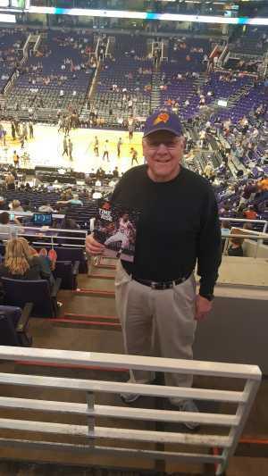 Ernest attended Phoenix Suns vs. New York Knicks - NBA on Mar 6th 2019 via VetTix