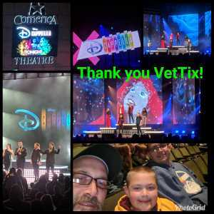William attended Disney's Dcappella - Other on Mar 12th 2019 via VetTix