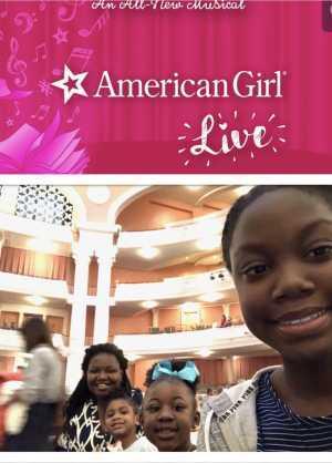 TOMEKA attended American Girl Live! on Mar 10th 2019 via VetTix