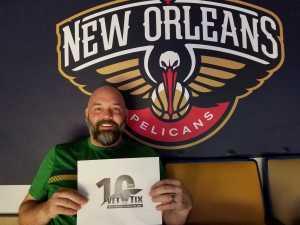 Guy attended New Orleans Pelicans vs. Utah Jazz - NBA on Mar 6th 2019 via VetTix