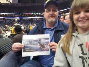 Rick attended New Orleans Pelicans vs. Utah Jazz - NBA on Mar 6th 2019 via VetTix