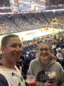 JOEL attended New Orleans Pelicans vs. Utah Jazz - NBA on Mar 6th 2019 via VetTix