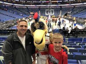 Robert attended New Orleans Pelicans vs. Phoenix Suns - NBA on Mar 16th 2019 via VetTix