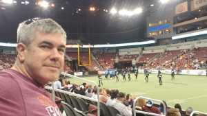 Brian attended Wichita Force vs Salina Liberty - Champions Indoor Football League on Jun 9th 2019 via VetTix