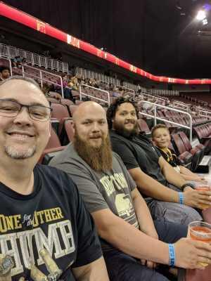 Shane attended Wichita Force vs. Amarillo Venom - Champions Indoor Football League on Jun 15th 2019 via VetTix