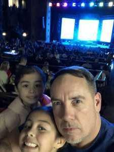 Charles attended Disney's Dcappella on Mar 7th 2019 via VetTix