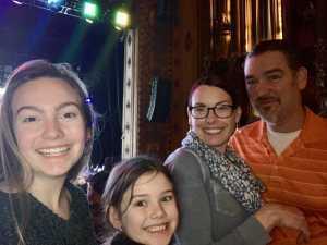 Camille attended Disney's Dcappella on Mar 7th 2019 via VetTix