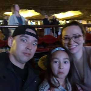 Chelsea B. attended Disney's Dcappella on Mar 7th 2019 via VetTix