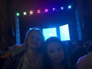 Michelle attended Disney's Dcappella on Mar 7th 2019 via VetTix