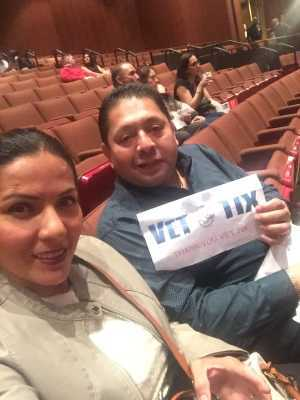 Miguel attended LA Santa Cecilia - Latin on Mar 10th 2019 via VetTix