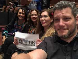 Stacy attended LA Santa Cecilia - Latin on Mar 10th 2019 via VetTix