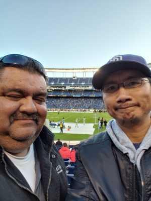 Chanthorn attended San Diego Fleet vs. Salt Lake Stallions - AAF on Mar 9th 2019 via VetTix