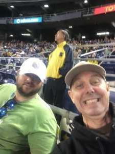 David attended San Diego Fleet vs. Birmingham Iron - AAF on Mar 17th 2019 via VetTix