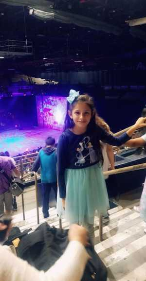 Aurea attended Disney on Ice Presents Worlds of Enchantment - Ice Shows on Apr 18th 2019 via VetTix