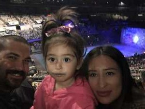 Nicholas attended Disney on Ice Presents Worlds of Enchantment - Ice Shows on Apr 18th 2019 via VetTix
