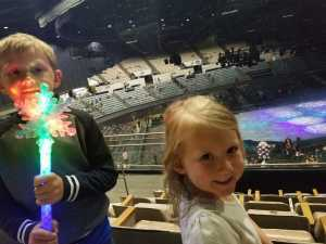 Stephen attended Disney on Ice Presents Worlds of Enchantment - Ice Shows on Apr 18th 2019 via VetTix